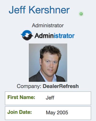 Jeff Kershner forum bio photo