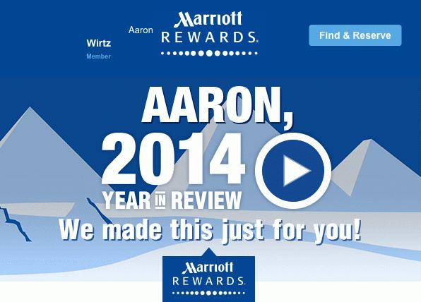 Aaron's Personalized Marriott Video