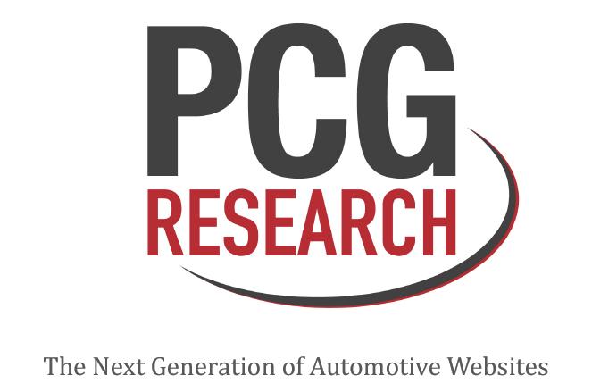 PCGResearch dealership website platforms