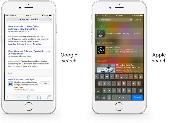 Apple and Google: Mobile Apps Now a Significant Part of SEO