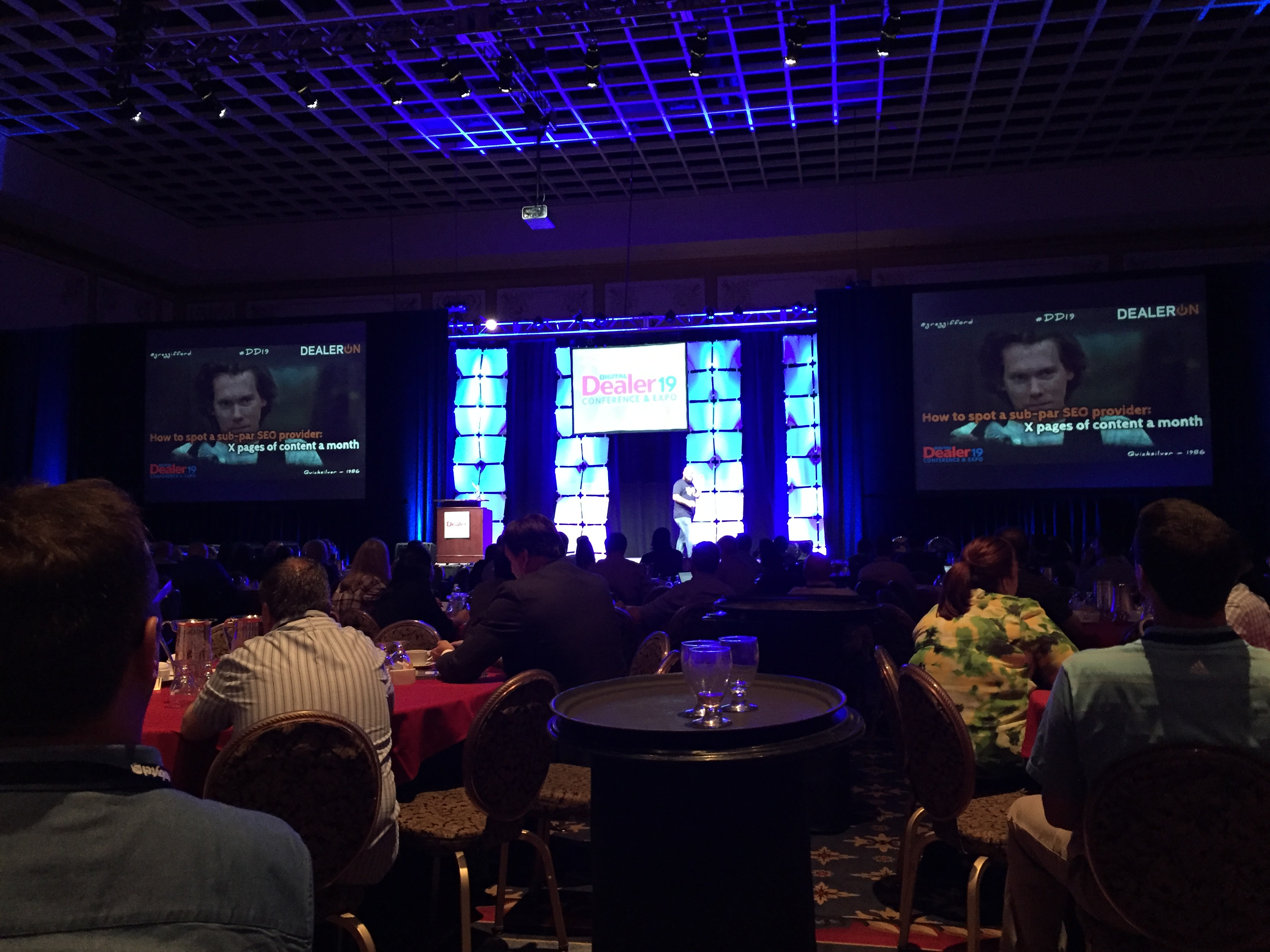 "Greg Gifford aka ""King Gifford"" packs the house at DD19"