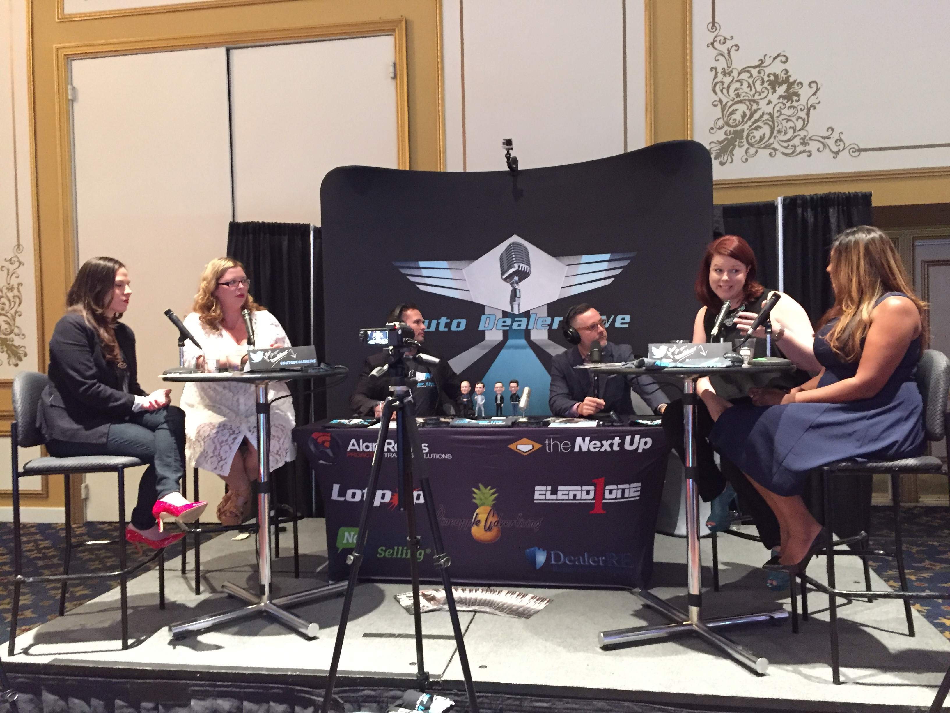The Women Who Rock Auto during AutoDealer Live, including Jennifer Briggs