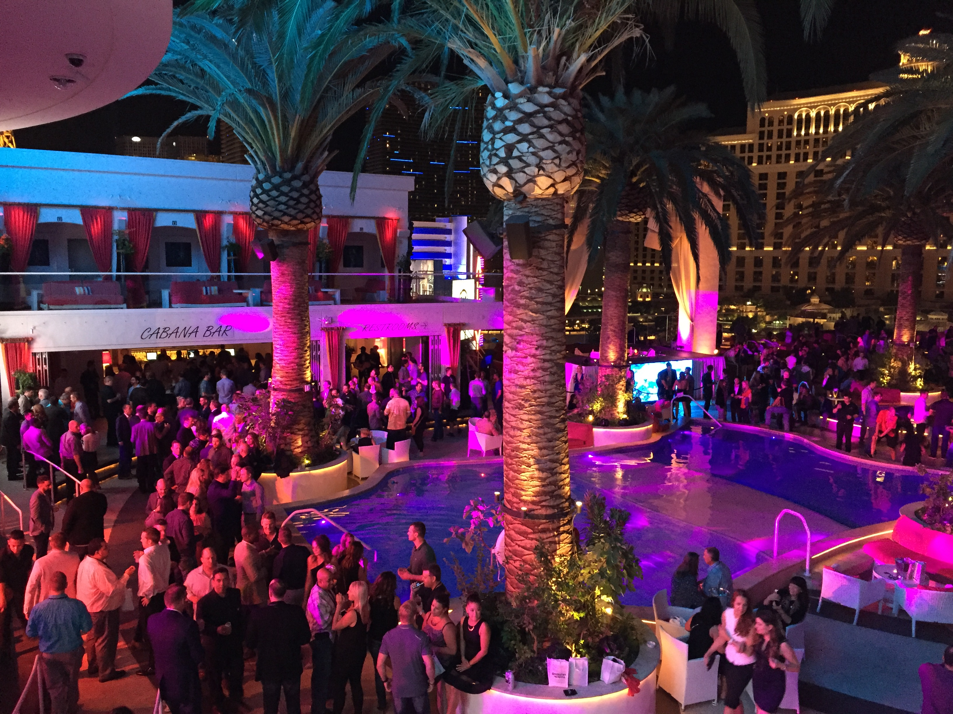 Fun filled and packed dealer appreciation party at Drai's nightclub