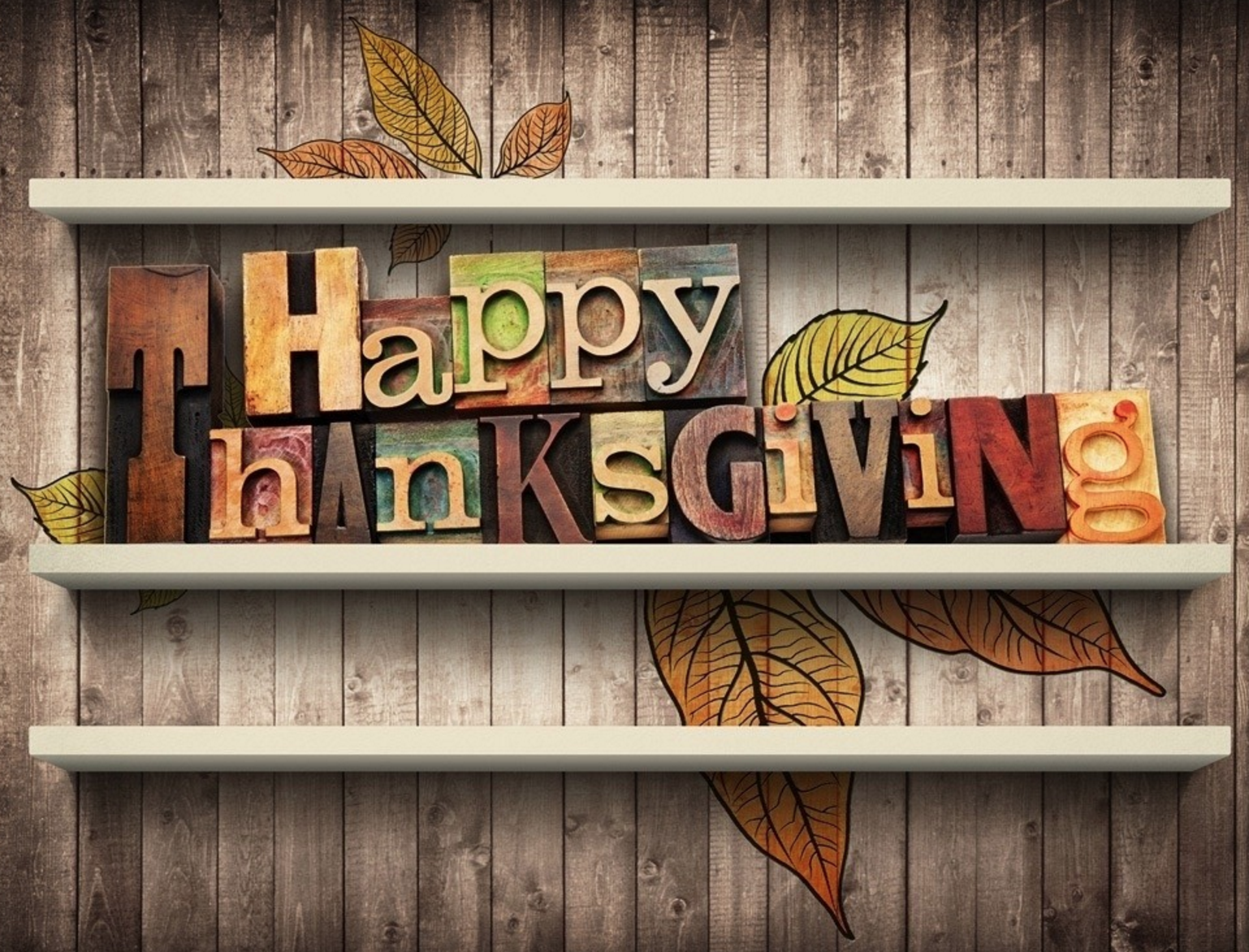 Thanksgiving is here – So Thank You!