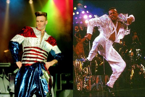 Vanilla Ice and MC Hammer