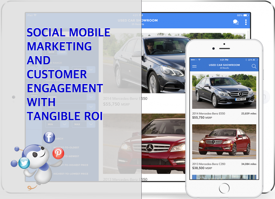 Social Mobile Customer Engagement with Tangible ROI by HELIO