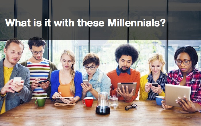 Price? No, it's Trust – What is it with these Millennials?