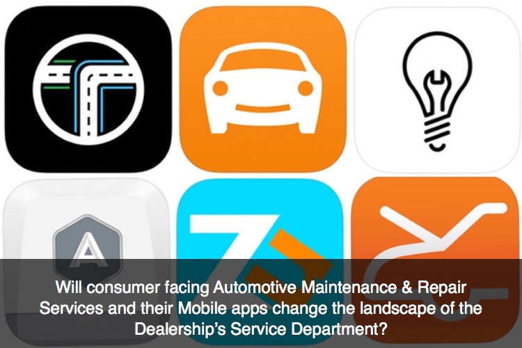 Connected Auto Apps and Consumer Auto Service Apps