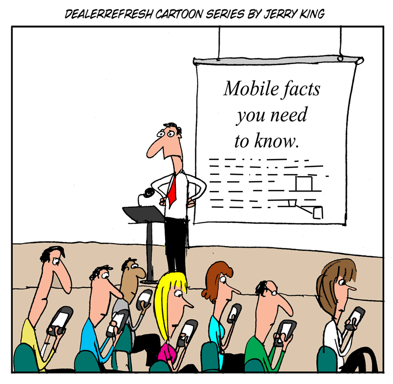DealerRefresh Cartoon series mobile facts ignoring