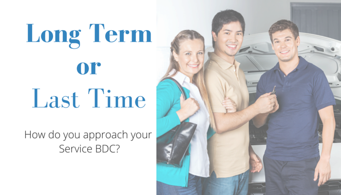 Long Term or Last Time Dealership BDC Retention