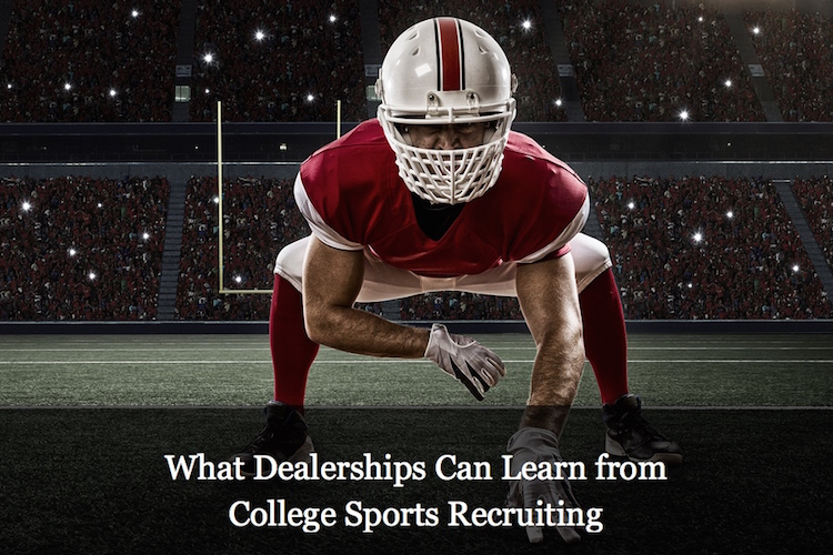 What Retail Automotive Can Learn from College Sports Recruiting