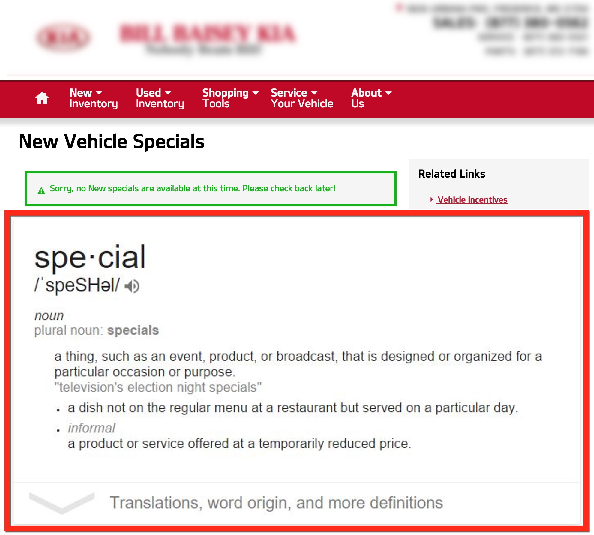 Are Your New Car Specials, Really Special?