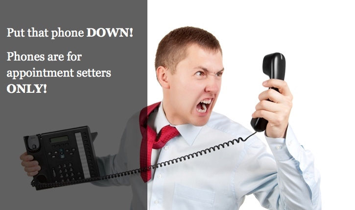 5 Reasons Why Your Sales Department Shouldn't Take that Phone Call