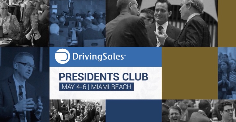 DrivingSales Presidents Club 2016 – The Event
