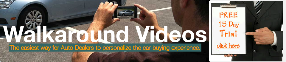 Get Started with a 15-day Free Trial of Walkaround Videos