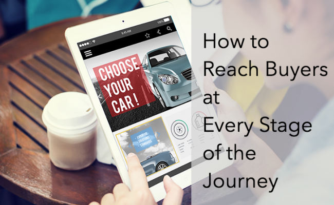 How to reach buyers at every stage of the journey