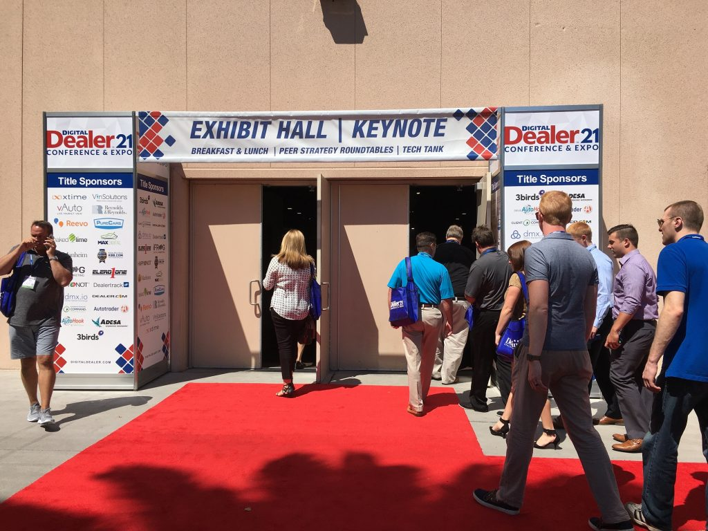 Entering Digital Dealer 21 Exhibit Hall