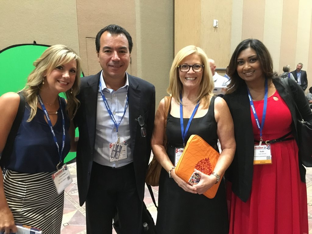 Courtney Hennessey, Igor Kalassa, Kathi Kruse & Subi Ghosh learning at DD21
