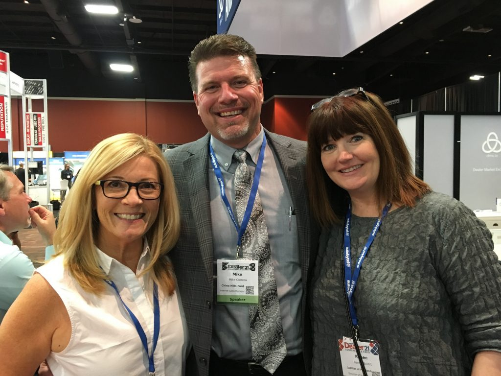 Kathi Kruse, Mike Correra, and Renee Stuart - trio of talent!