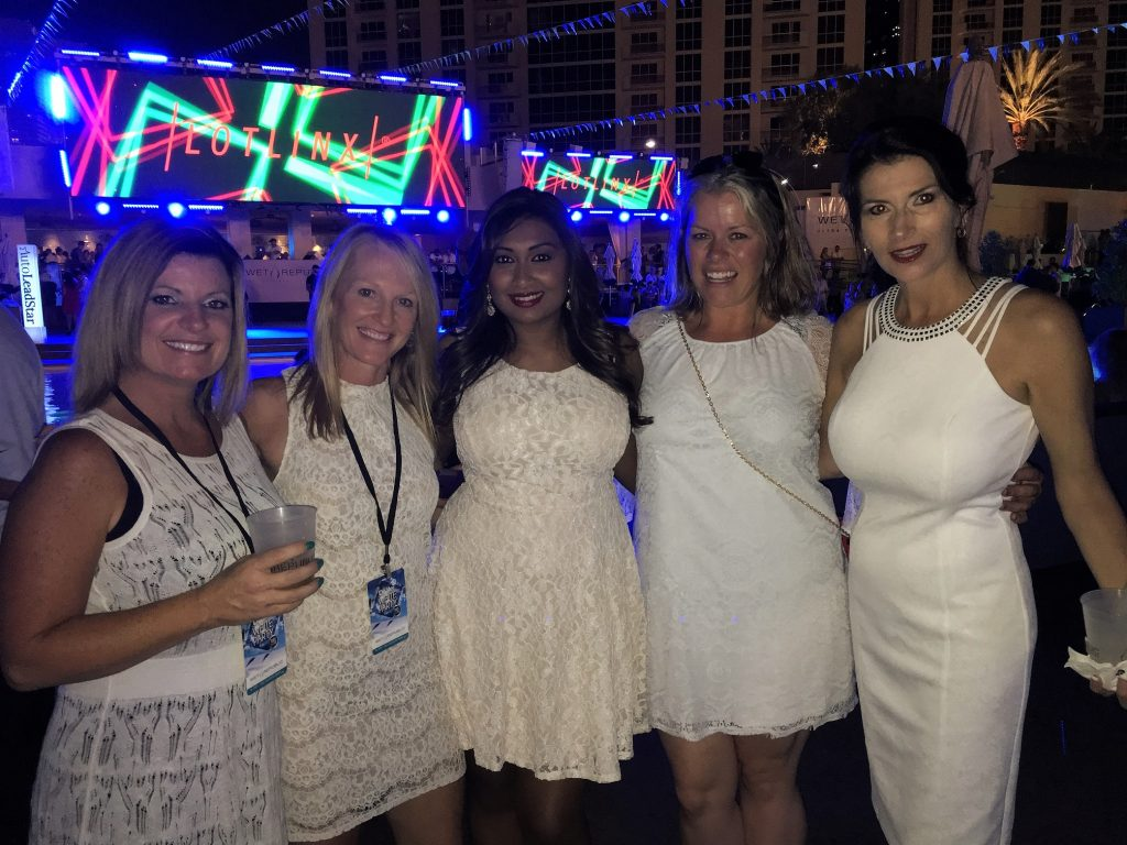 Jenny Harris, Julie Frye, Subi Ghosh, Amy Bannor & Veronica Dunford turning heads at the White Party