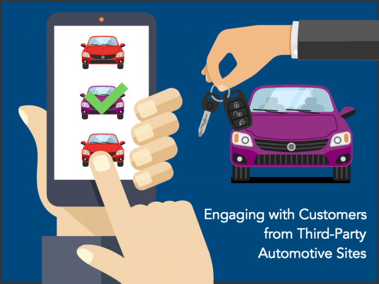 Engaging with customers from Third-Party Automotive Sites