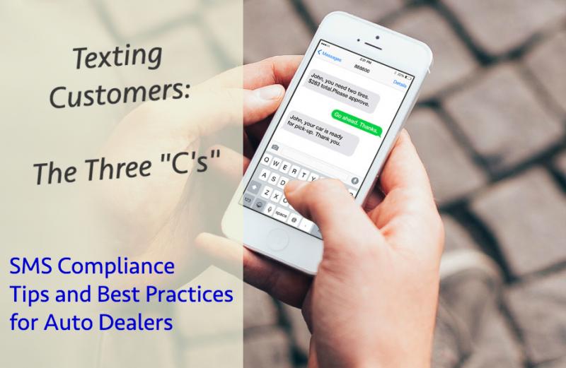 "Texting Customers: The Three ""C's"""