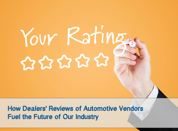 Why Dealer Reviews of Automotive Vendors Matter