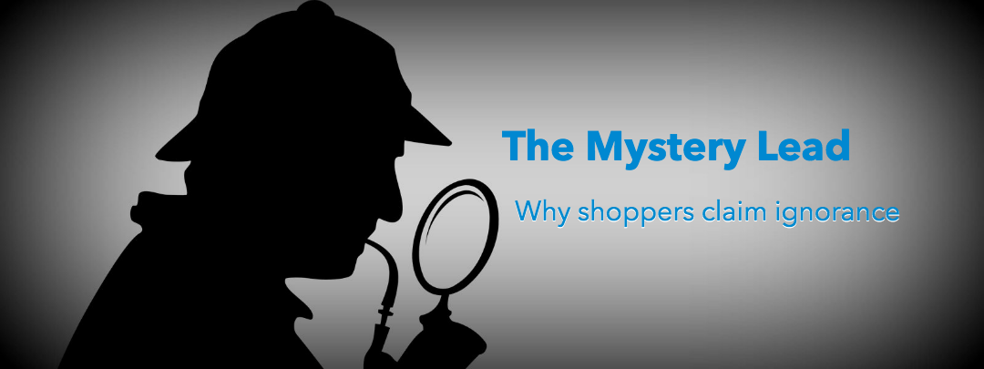 Why shoppers claim ignorance