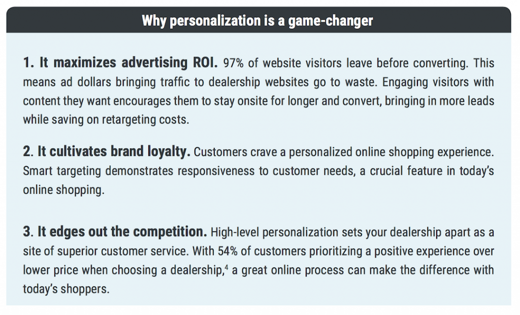 Why Personalization is a Game Changer
