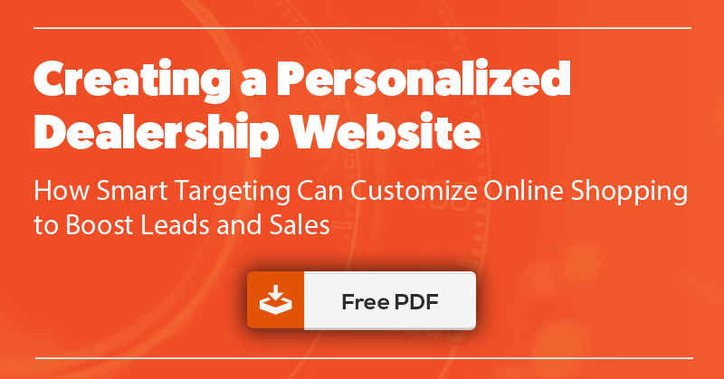 White Paper - Creating a Personalized Dealership Website