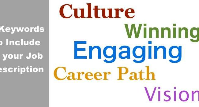 5 Keywords For Job Description