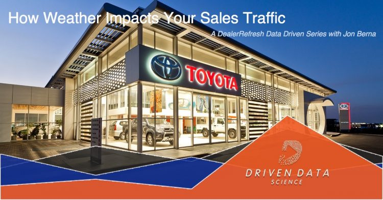 How Weather Impacts Your Dealer's Sales Traffic