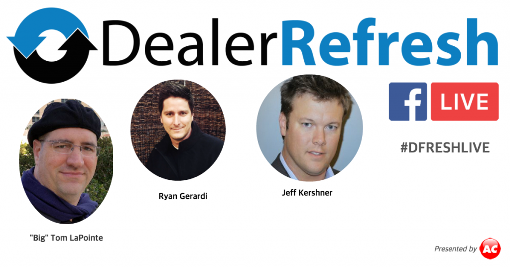 """Refresh Fridays"" with DealerRefresh"