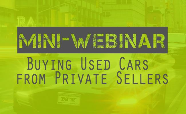 buying used cars from consumers