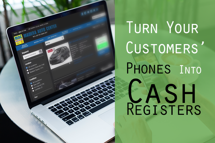 VIDEO: How to Turn Customers' Phones Into Cash Registers