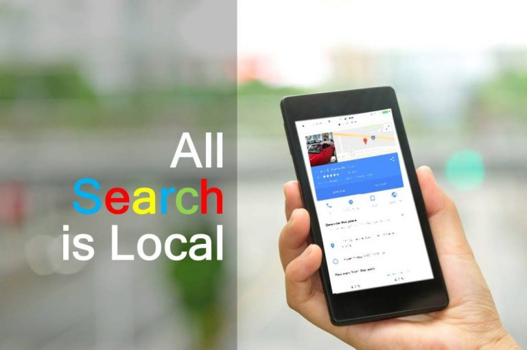 All Search is Local