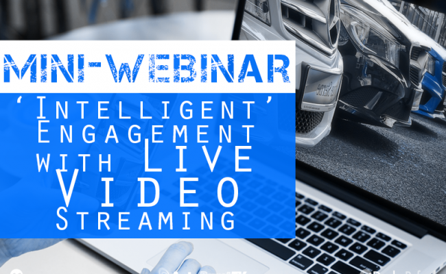 mini webinar video streaming