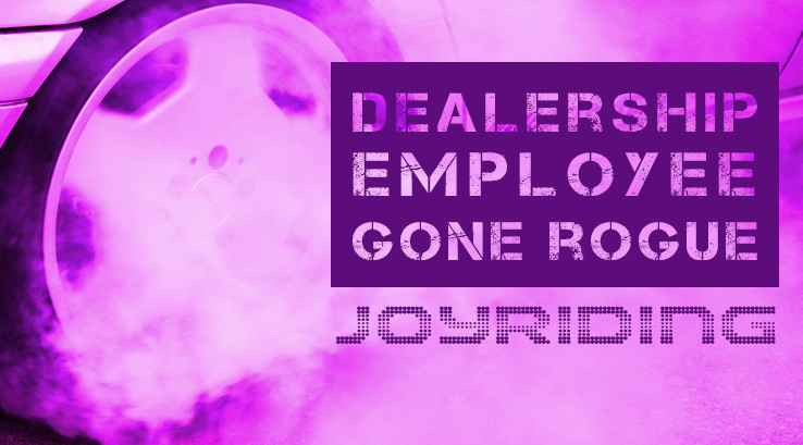 Employee Joy Rides. Has This Happened to You?
