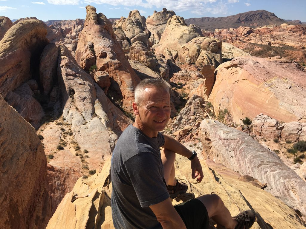 Kevin Frye at Valley of Fire