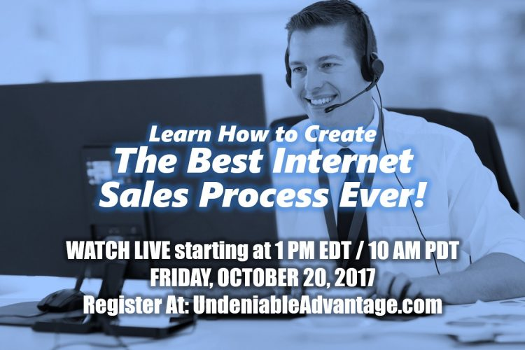 The Best Internet Sales Process Ever!