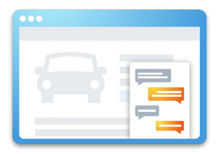 Where to add Dealer Chat Option for Service