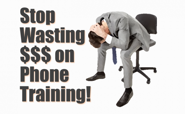 Phone Training for Auto Dealers