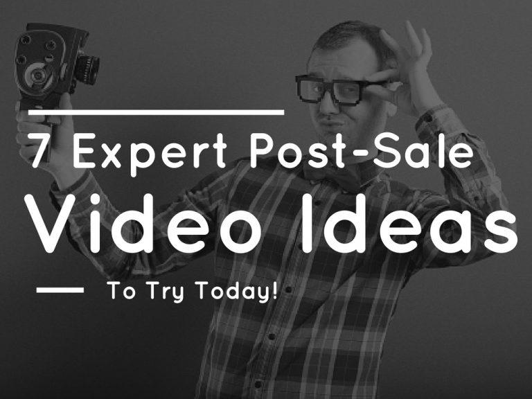 7 Expert Post Sale