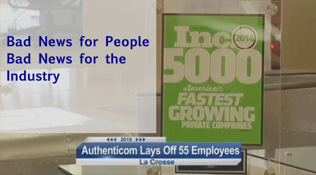 Authenticom to Lay Off 55 Workers