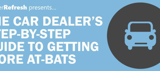 Car Dealer's Guide to Getting More At Bats