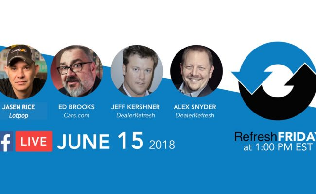 RefreshFriday EdBrooks & Jasen Rice June 15 2018
