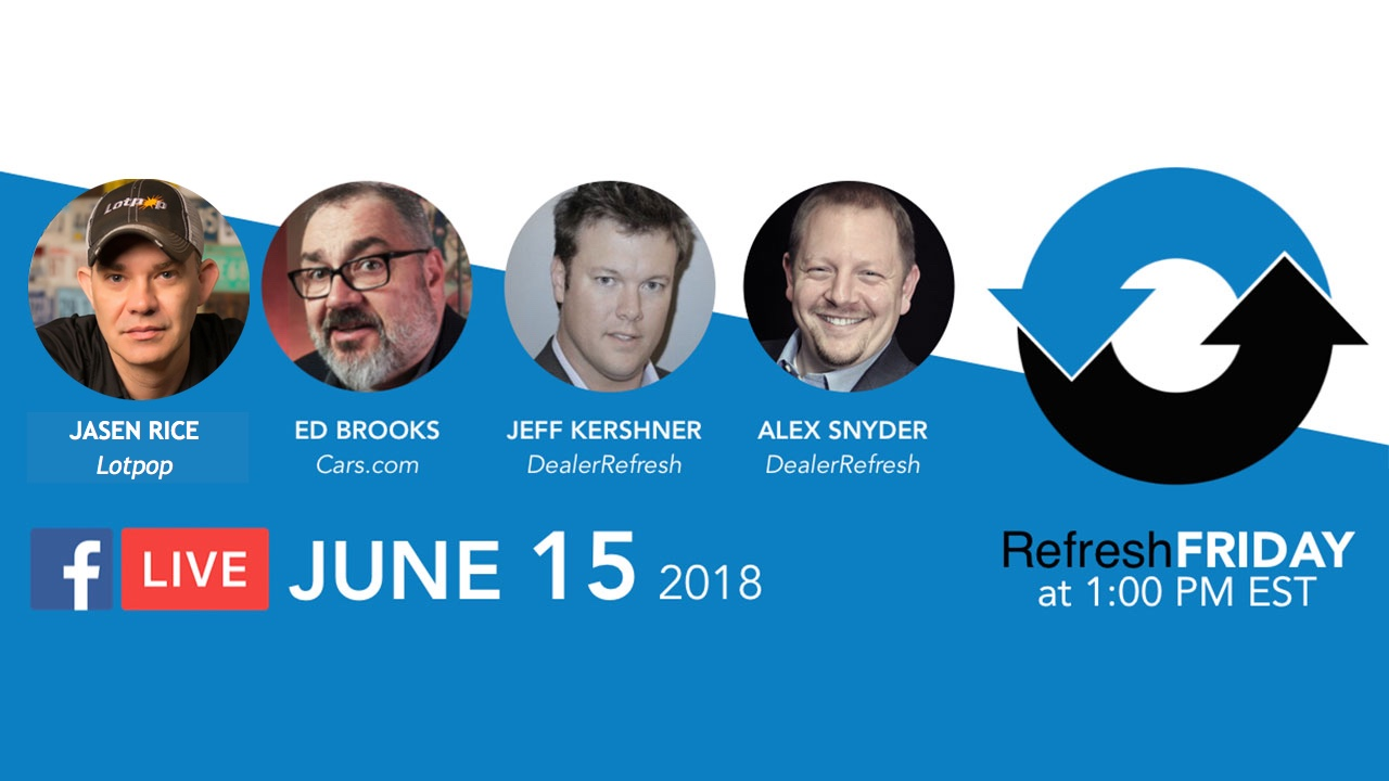 RefreshFriday EdBrooks & Jasen Rice June 15 2018