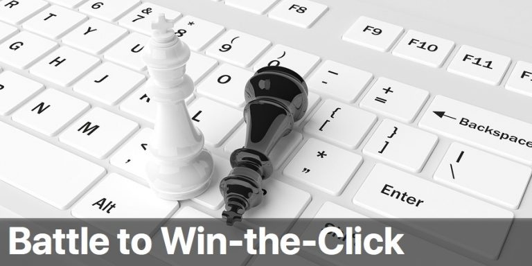 Battle to winning the click