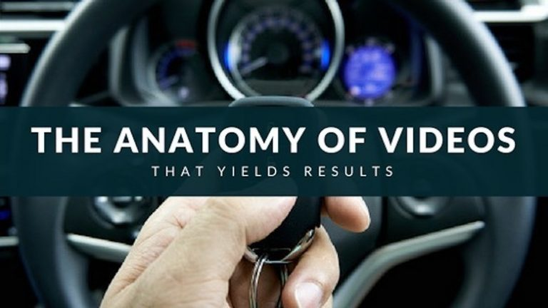 The anatomy of video