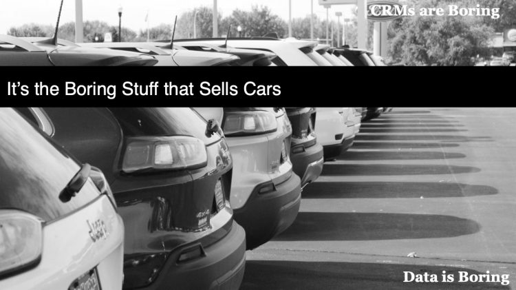 It's the Boring Stuff that Sells Cars